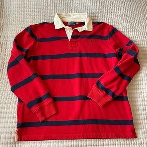Polo By Ralph Lauren Rugby Fleece long Sleeve